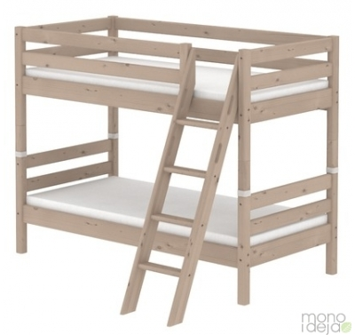 Flexa bunkbed with slanting ladder