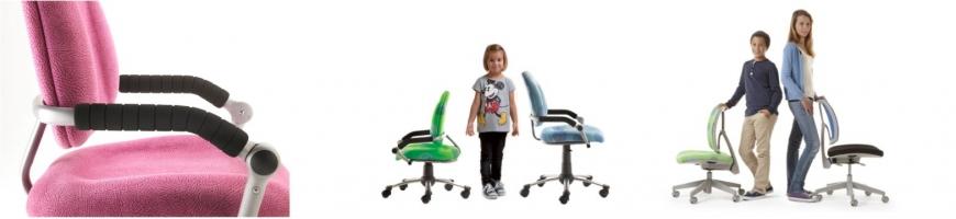 Swivel study chairs