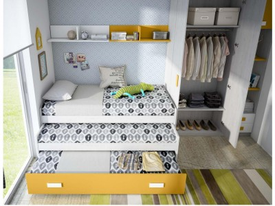 Forma furniture for kid's bedroom.