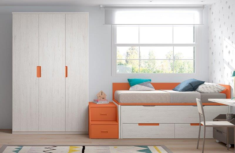 Bed for kid's bedroom from Forma collection.