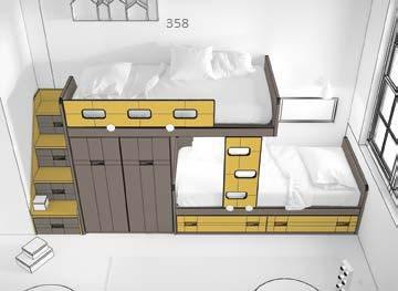 Dviaukstes-lovos-jaunuoliams-monoideja-baldai-vaikams