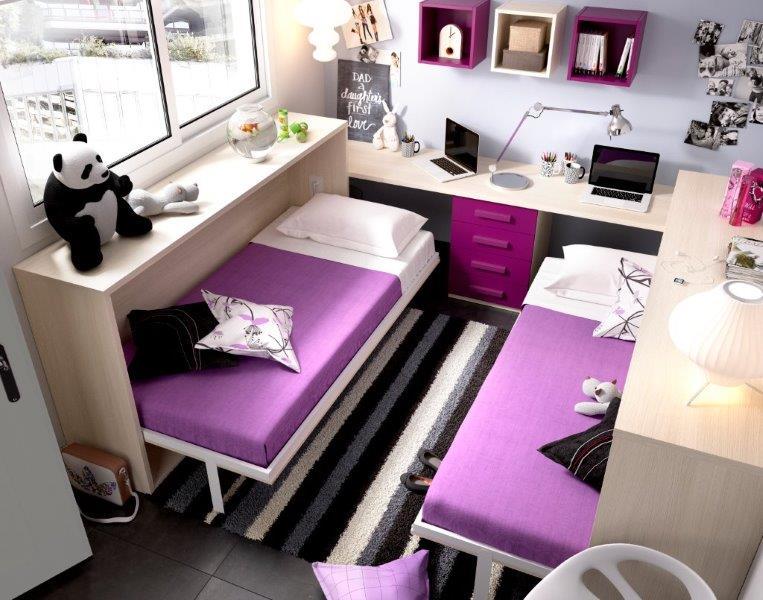 Bed-wardrobe-monoideja