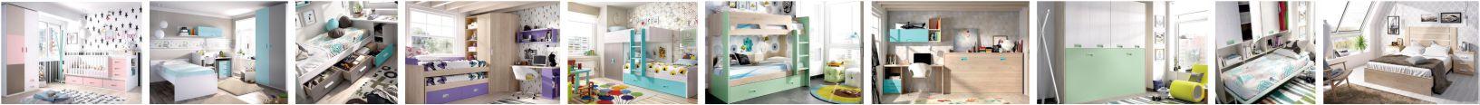 Jaunuolio kambario baldai miegamojo kambariui