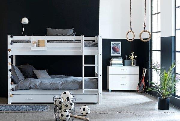 Dviaukste-lova-balta-Nordic-baldai-vaikams
