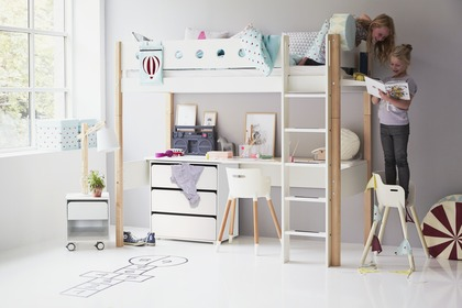 Furniture for kid room. Bed for the youth.