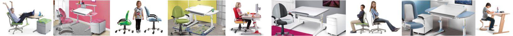 Augantys vokikiški baldai vaikams. Kėdės vaikams. Augantis stalas