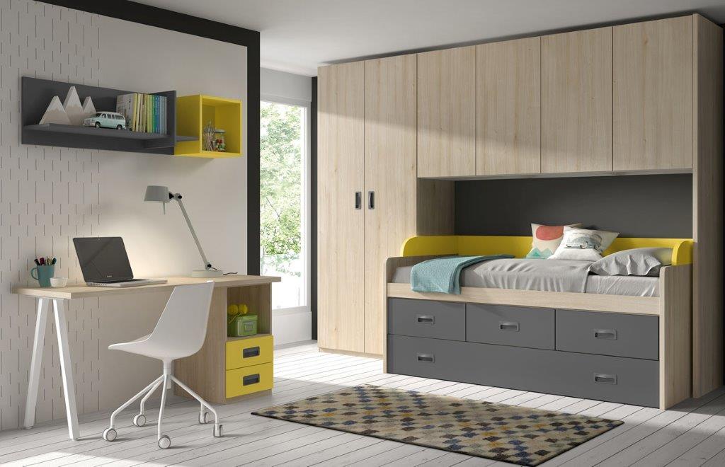 dviejų-vaiku-kambario-baldai