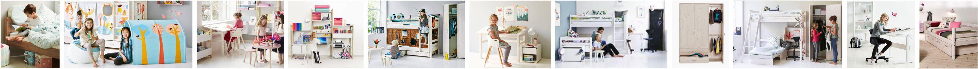 Flexa moduliniai baldai baldai jaunuolio ir vaikams.  Flexa  lovos vaikams ir jaunuoliams. Flexa baldų komplektai vaiko kambariui.