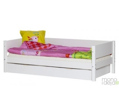 Flexa white bed