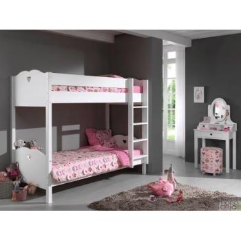 Dviaukštės lovos Amore