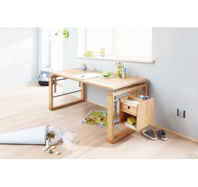 Adjustable study desk