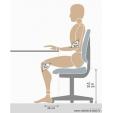 Ergonominė kėdė balnas