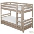 Dviaukštės lovos su stalčiais
