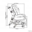 Auganti kėdė MC401