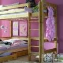 Dviaukštės lovos Midi