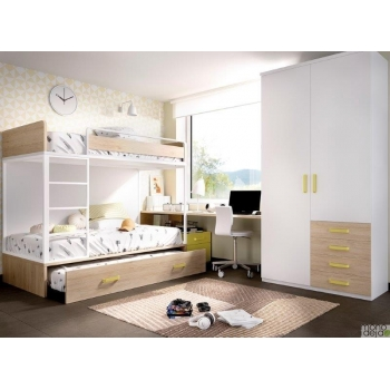 Bunk bed | Bed for kids | Furniture for youth room