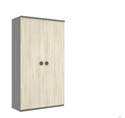 Dviejų durų spinta 238cm.