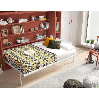 Dvigulė lova spintoje