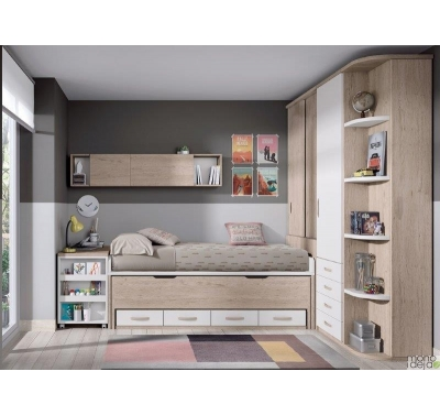 Bed for 2 teens