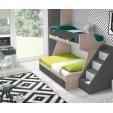 Dviaukštė-lova-forma-kambarys-jaunuoliams