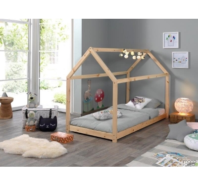 Playhouse bed frame