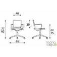 Medicininės-kėdės-biurui-mokykloms-matmenys