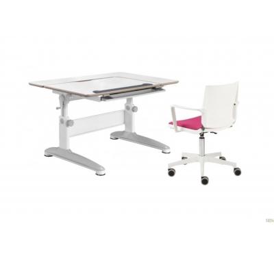 Augantis stalas su kėde