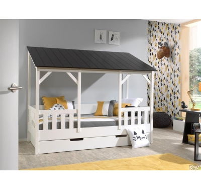 Toddler bed-house