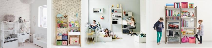 Shelf system for children room