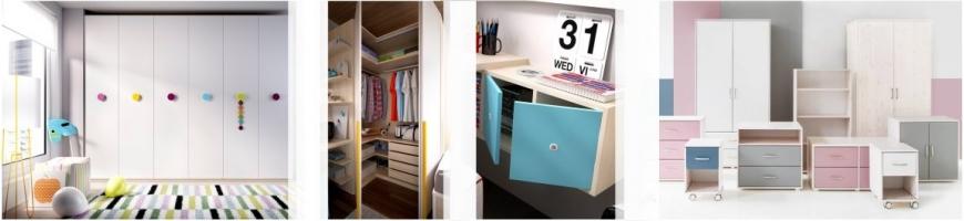 Wardrobe for teens room