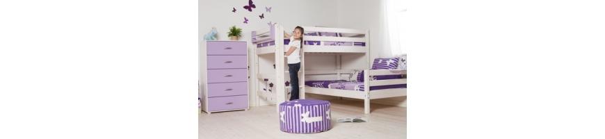Kampinės dviaukštės lovos