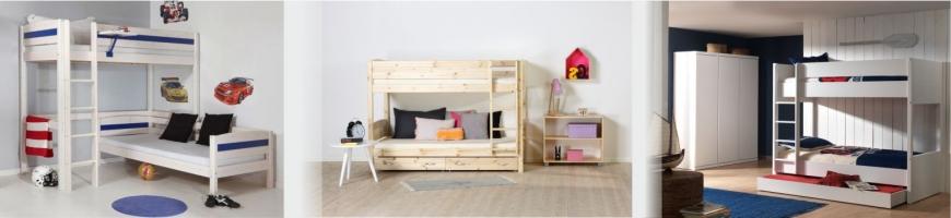 Dviejų aukštų lovos